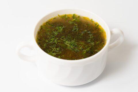 Суп з локшиною та грибами 250г.